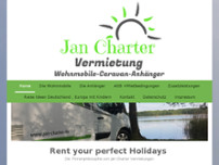 Jan Charter Vermietungen Berlin website screenshot