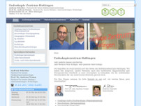 Prof. Dr. med. Andreas Tromm website screenshot