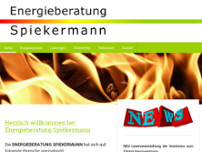 Energieberatung Spiekermann website screenshot