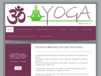 Yogahaus Bottrop website screenshot