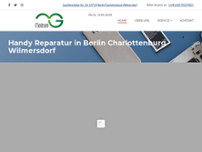 Handy Reparatur in Berlin Charlottenburg Wilmersdorf - Medcom website screenshot