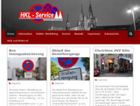 HKL-Service e.K. Köln website screenshot