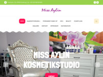 Miss Aylin Kosmetikstudio website screenshot