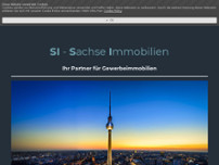 Sachse Immobilien website screenshot