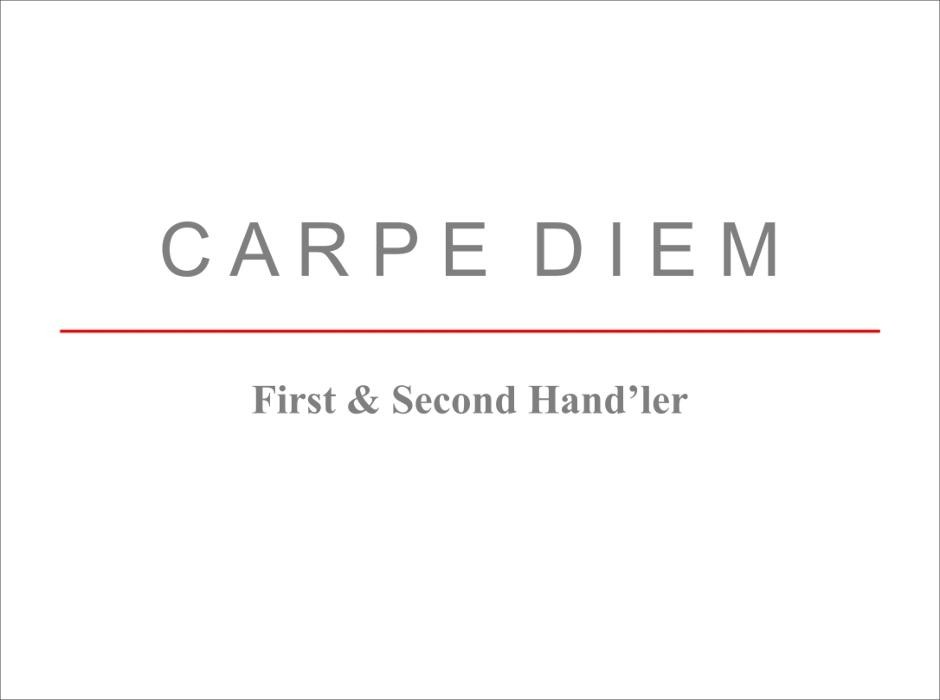 Carpe Diem First & Second Hand'ler Logo