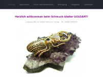 Irina Kugler Schmuckatelier GoldArt website screenshot