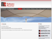 Rollladen Reuther GmbH website screenshot