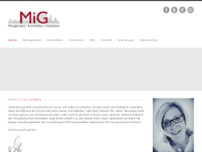 MiG Immobilien GmbH website screenshot