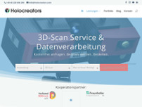 Holocreators GmbH website screenshot