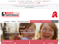 Busch-Apotheke Kesselbrink website screenshot