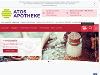 Atos Apotheke Heidelberg website screenshot