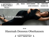 Hautnah Dessous website screenshot