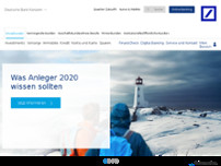 Deutsche Bank Filiale website screenshot
