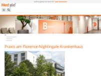 Radiologie 360° - Praxis am Florence-Nightingale-Krankenhaus in Düsseldorf website screenshot