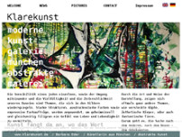 Klarekunst website screenshot
