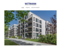 WITTMANN ARCHITEKTURBÜRO website screenshot