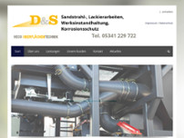 D&S HECO Oberflächentechnik GmbH & Co. KG website screenshot