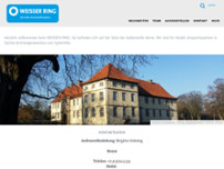 WEISSER RING e.V. website screenshot