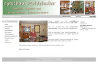 Inh. Martina Schlehuber Gasthaus Schlehuber website screenshot