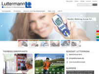 Luttermann GmbH website screenshot