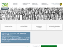 Landratsamt Plauen website screenshot