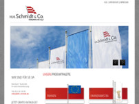 H.H. Schmidt & Co.GmbH website screenshot