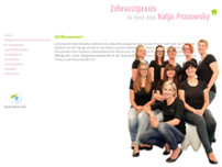 Katja Prosowsky website screenshot