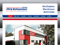 Helmut Strobel eK Rolladenbau website screenshot