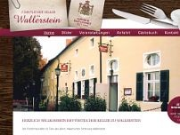 Fürstlicher Keller Wallerstein website screenshot