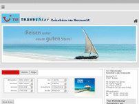 TUI TRAVELStar Reisebüro am Stadtbrunnen Inh. Henrike Garke website screenshot