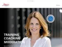 MenschTRAINING. Düsseldorf website screenshot
