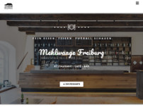 Mehlwaage Freiburg website screenshot