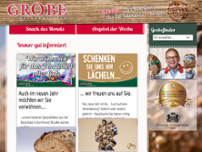 Bäckermeister Grobe GmbH & Co. KG Rewe Bövinghausen website screenshot