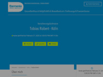 Barmenia Versicherung - Tobias Robert website screenshot