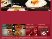 Sushi Express Service GmbH website screenshot