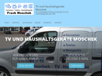 TV-Hausgeräte - Frank Moschek website screenshot