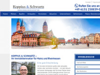 Koppius + Partner website screenshot