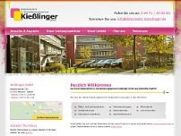 Christian Kiesslinger website screenshot