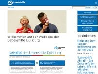 Lebenshilfe-Center website screenshot