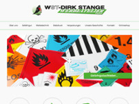 Dirk Stange website screenshot