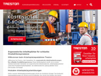 TRESTON GmbH website screenshot