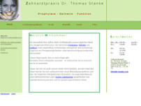Thomas Stanke website screenshot