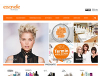 essanelle Ihr Friseur website screenshot