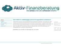Aktiv-Finanzberatung GmbH website screenshot