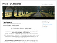 Manfred Höckner website screenshot