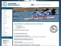 Gladsaxe Kano og Kajakklub website screenshot