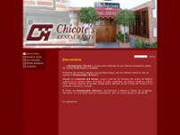 Restaurante Chicote's website screenshot