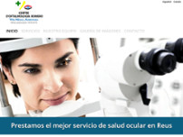 Centre d'Oftalmologia Romero website screenshot