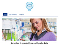 Farmacia Armentia website screenshot