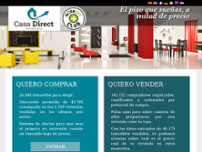 Inmobiliaria casa direct website screenshot
